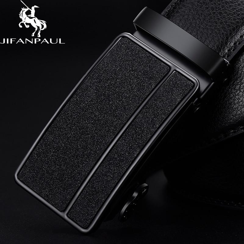 AliExpress - JIFANPAUL men's genuine leather black automatic buckle belt trend youth men's leather personality simple business beautiful belt