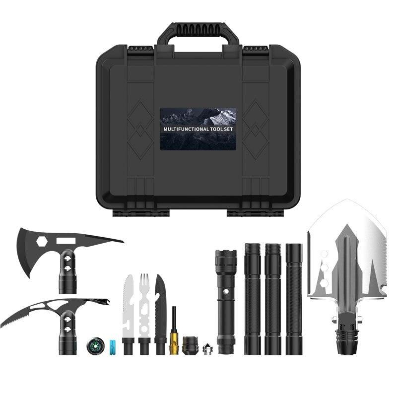 Engineer Shovel and Axe Multifunctional Suit Folding Ordnance Shovel Camping Outdoor Supplies Shovel Survival Edc Tool