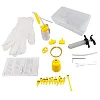bike hydraulic brake bleed repair kit bicycle all purpose disc brake oil change kit tool