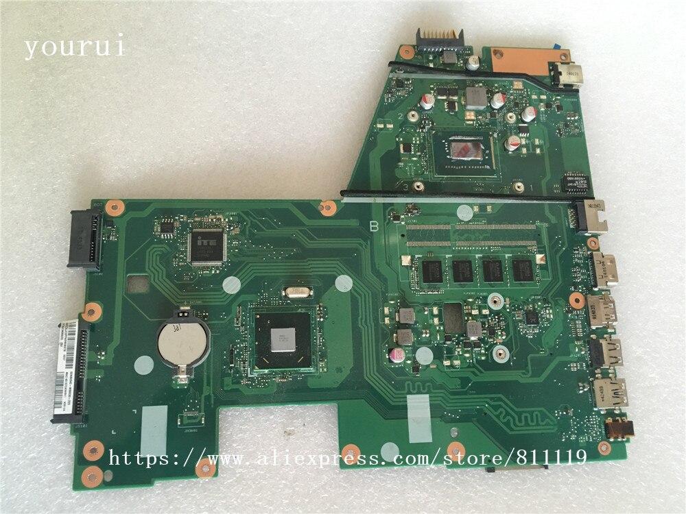 Yourui الأصلي ل اللوحة الأم ل ASUS X551CA REV 2.2 SR0N9 i3-3217u اختبار اللوحة الرئيسية العمل المثالي