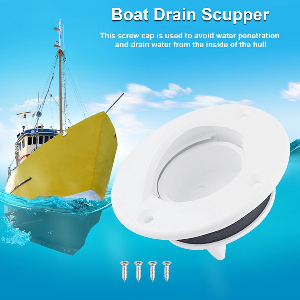 Шпатель для слива лодки, штепсельная Вилка для лодки, закручивающаяся крышка, нейлоновая Крышка для лодки, шпатель для лодки, шпатель, клапа...