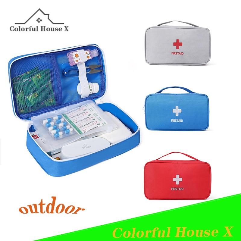 51. Kit De Primeros Auxilios Portátil para Medicinas