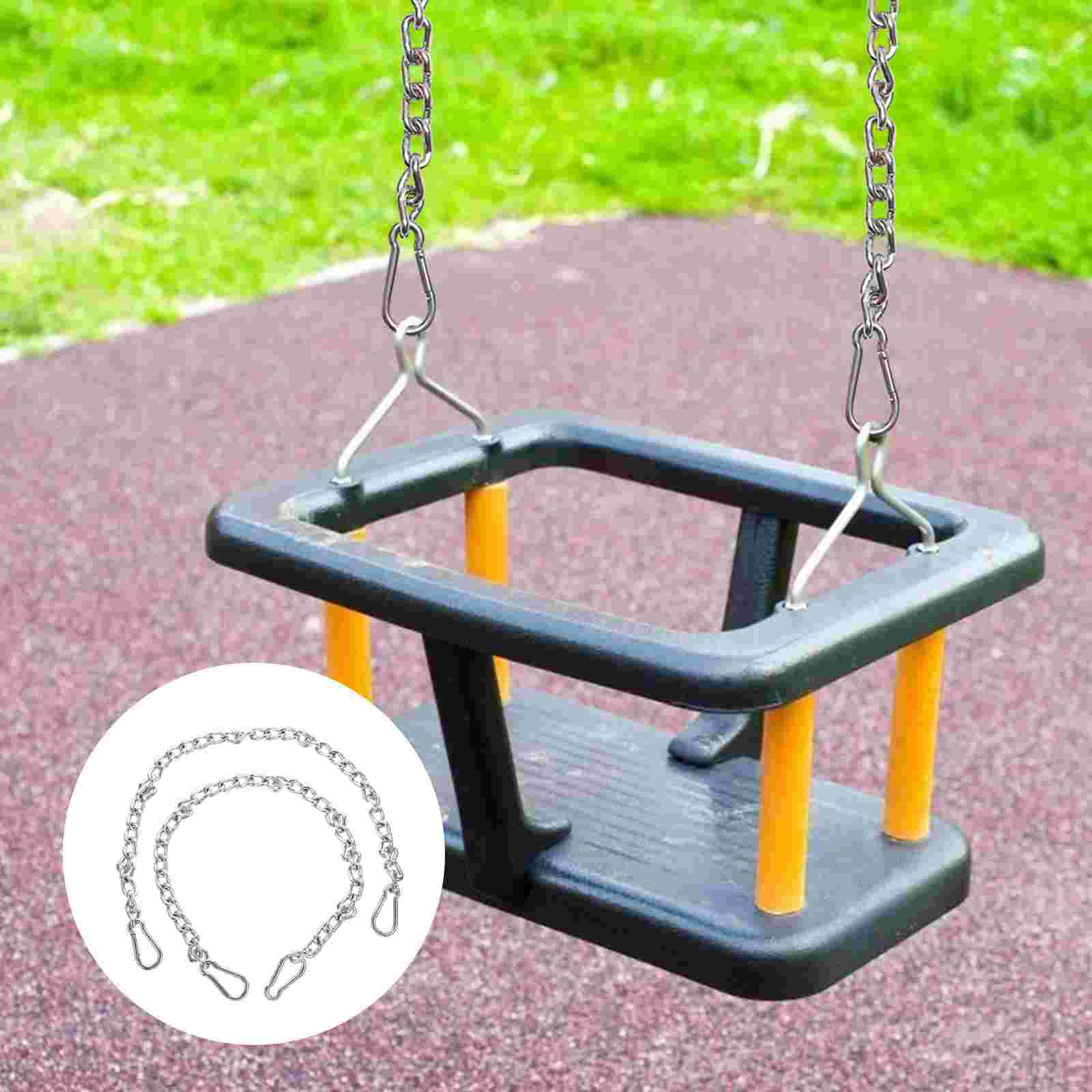 2pcs Swing Extention Chains Iron Extension Chain Outdoor Swings Accessories