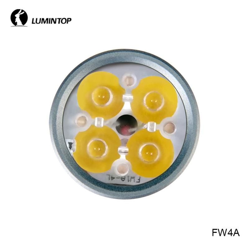 Lumintop FW4A мощный EDC флэш-светильник 3600 люмен 18650 фонарь Anduril UI Cree Nichia СВЕТОДИОДНЫЙ светильник для кемпинга с диффузором