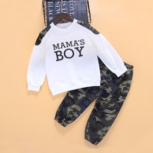 Boys Clothing Sets Spring Autumn Children Fashion Cotton Tops Trousers For Baby Kids Casual Jogging Suits Toddler 1-6Y Outfits