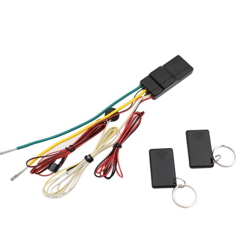 FISHBERG 2.4 G Car Immobilizer System Car Universal Put Remote In Pocket Lock Unlock Engine Intelligent Anti-Hijacking Circuit