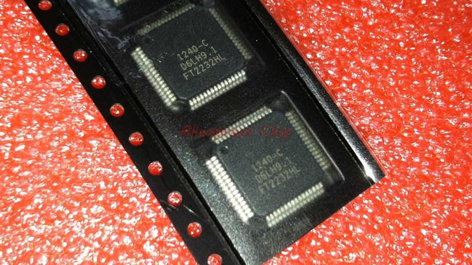 1 шт./лот FT2232HL LQFP-64 FT2232 FT2232H USB интерфейс IC USB для Dual UART/ HS FIFO/SPI/JTAG/I2C Новый оригинал в наличии