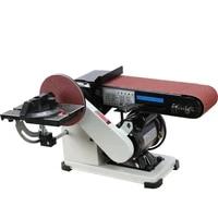 electric iron angle grinder sanding belt holder sanding grinding polishing machine cutter cast iron base power tool