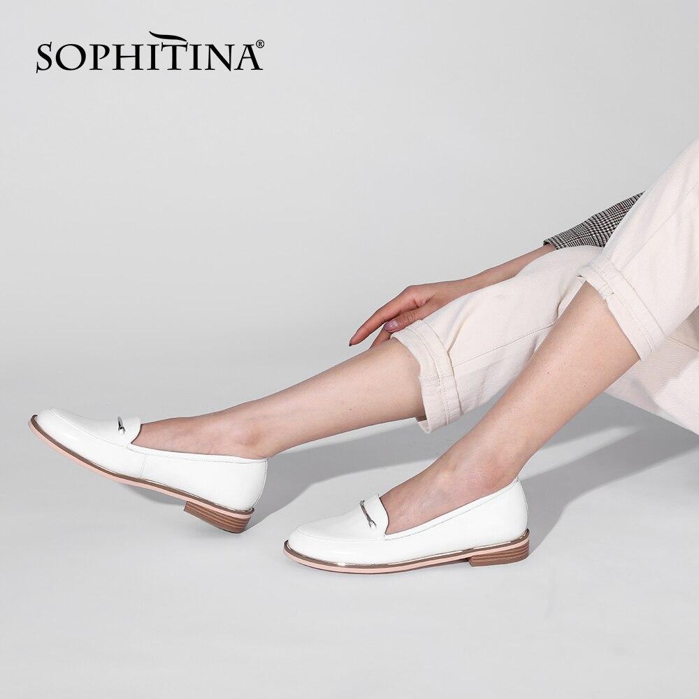 Sopitina-حذاء نسائي دائري من الأمام ، حذاء مشي مريح ، عصري ، لربيع 2021 ، PK19