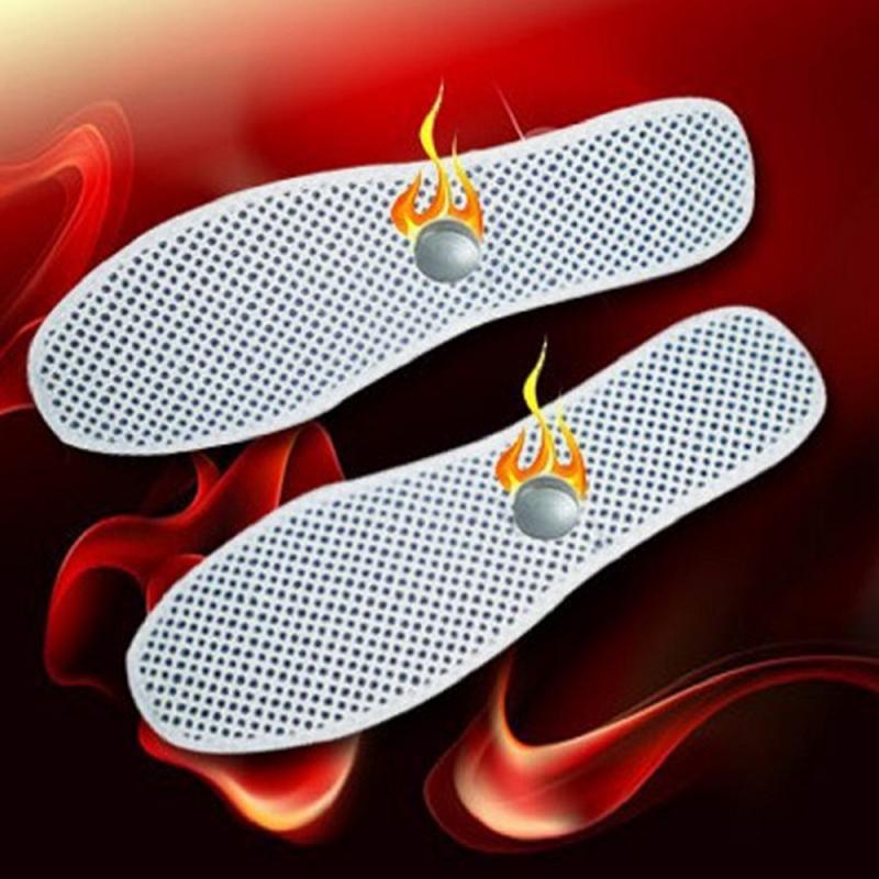 1 para samonagrzewający masaż wkładka do butów Tomalin magnetoterapia wkładka łagodzi piętę ostroga ścięgno achillesa ból pielęgnacja stóp