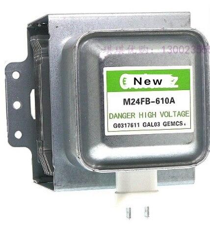 100% Original nuevo horno de magnetrón de microondas M24FB-610A para piezas de microondas Galanz