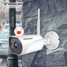 Vstarcam 1080P واي فاي كاميرا IP صافرة إنذار IP66 2MP في الهواء الطلق مانعة لتسرب الماء الأشعة تحت الحمراء للرؤية الليلية الأمن كاميرا مراقبة فيديو C13S