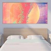 Peinture a lhuile abstraite etoile planete art toile peinture salon couloir bureau decoration murale