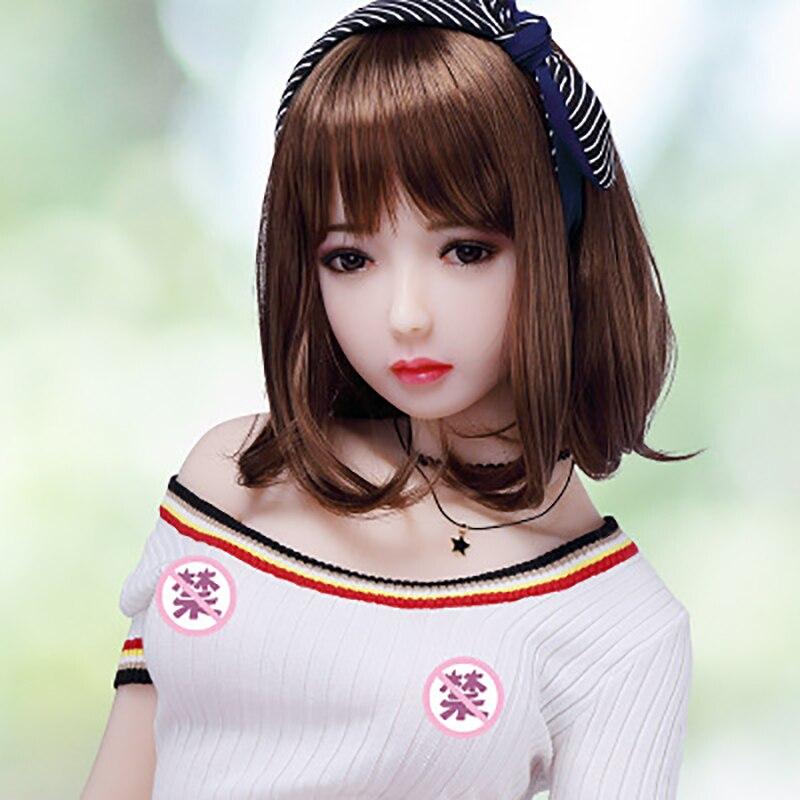 70-90cm muñeco sexual de silicona real Sexy juguetes para hombres grandes mama culo grande japonés adulto completo muñeca de amor realista Oral #