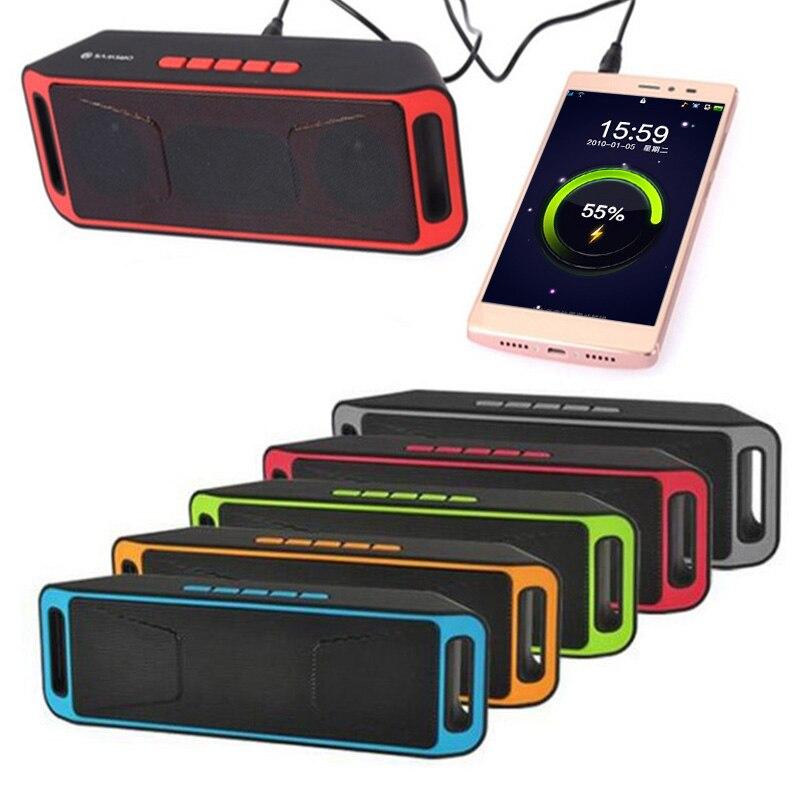 Altavoz inalámbrico con Bluetooth, altavoz portátil con graves altos, reproductor de MP3, tarjeta USB TF, Altavoz Bluetooth, Altavoz inalámbrico portátil