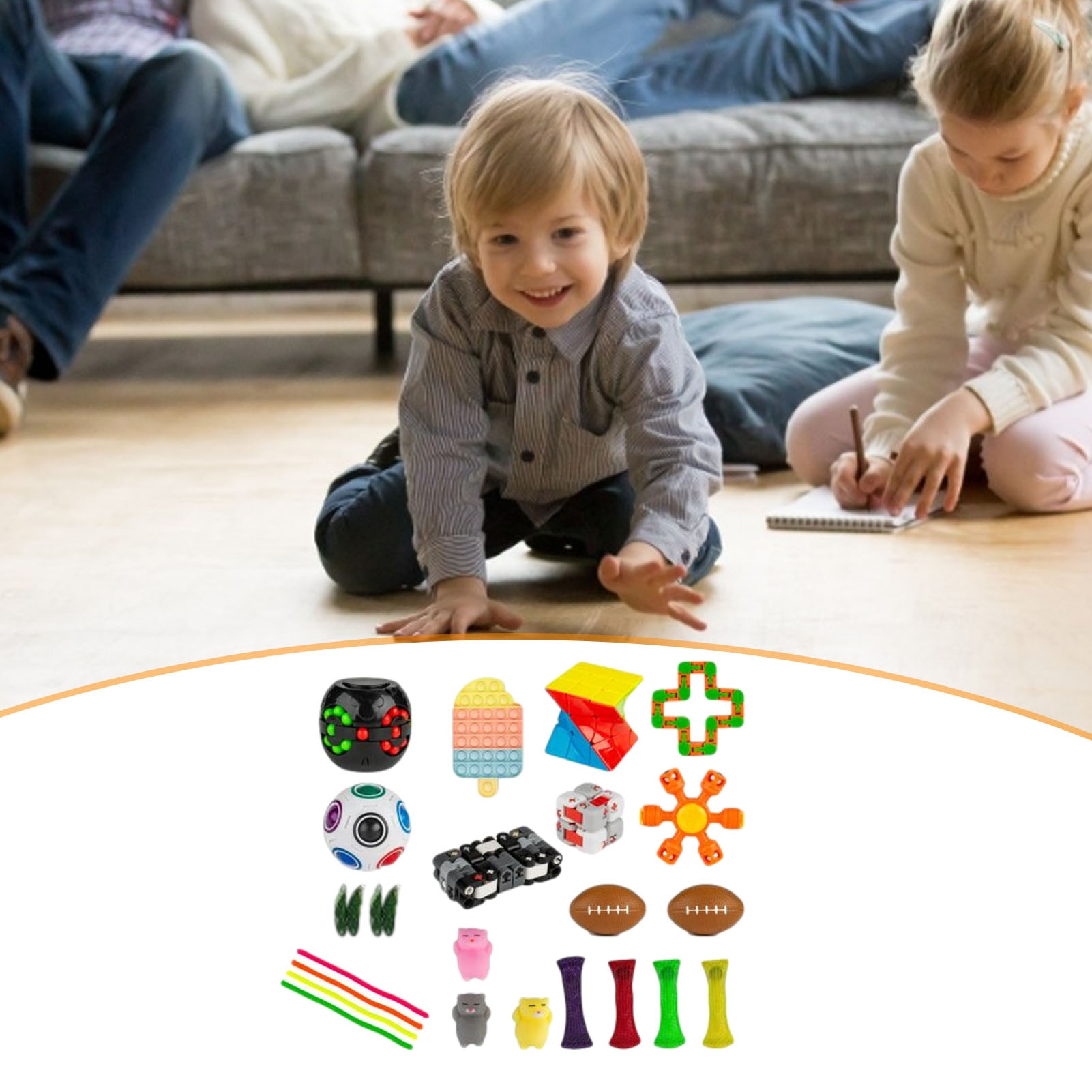 HOT Simple Dimple Fidget Toy Fat Brain Toys Stress Relief Hand Toys For Kids Adults Fidget Toys Funny enlarge