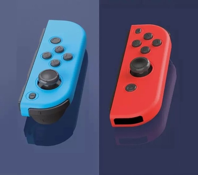 2021 New Bluetooth Wireless Controller for Nintend Switch joy Left & Right Console Joystick Red and blue Bluetooth Function 8