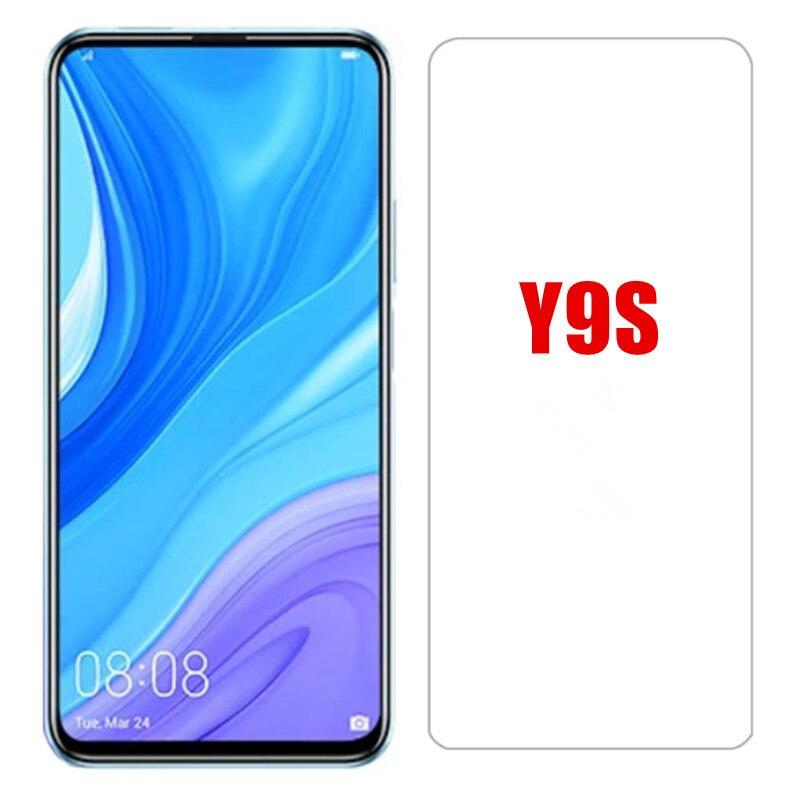 3 предмета в комплекте с уровнем твердости 9H Защитное стекло для Huawei Y9S y 9 s 2020 безопасности защитная пленка для экрана в браслете huawei y 9 s y9 s Y9s ...