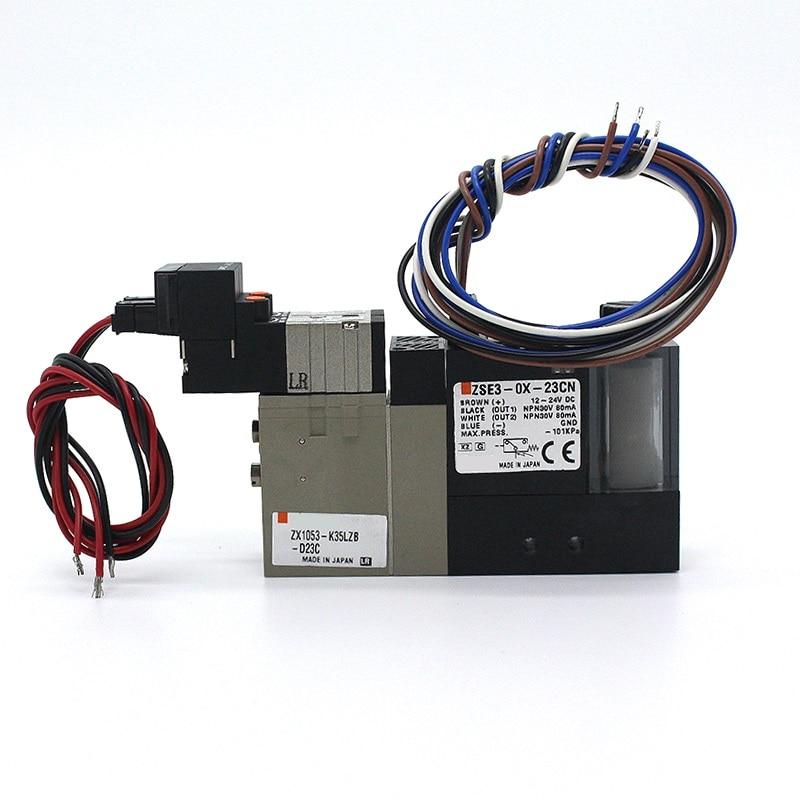 ZSE, вакуумный генератор ZSE3-OX-24/ZSE3-OX-23 * ZSE3-OX-22/ZSE3-OX-21