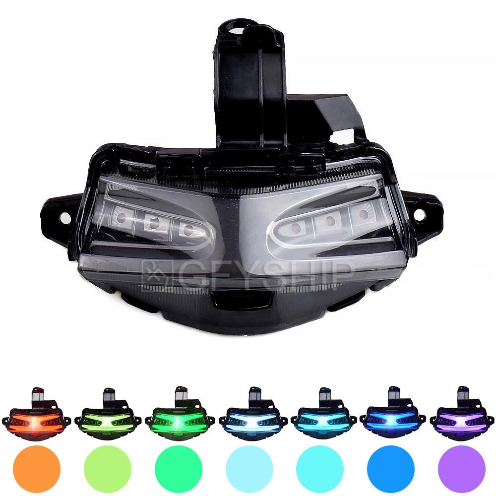 ضوء خلفي LED للدراجات النارية ، ضوء الفرامل ، لياماها Aerox NVX155 NVX125 GDR155 NVX 155 125 GDR 155