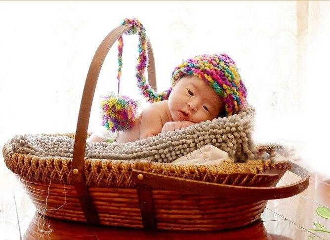 Реквизит для фотосъемки новорожденных корзина для детской студии плетеная корзина для фотосъемки младенцев портативная детская плетеная ...