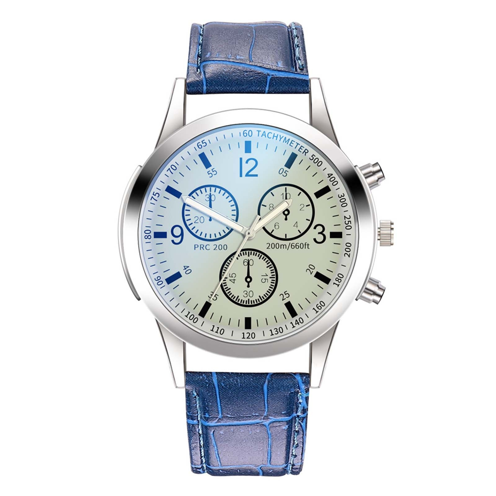 Men Quartz Wrist Watches Fashion Watches Quartz Clocks Leather Casual Business Wristwatches Hand Clo