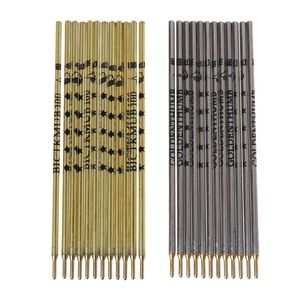 100pcs/box Thumb Silver Iron Pipe Refill Clothing Leather Cloth Cutting Positioning Special Mark Line Pen Silver/Gold Rod