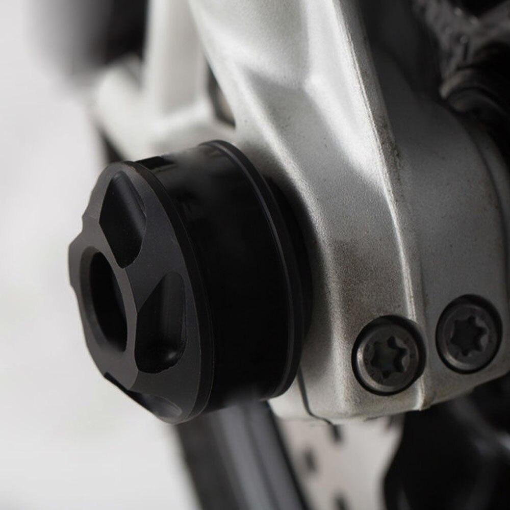 Motorcycle Falling Protectors Wheel protection Frame Slider Anti Crash Caps Anti-drop Block Wheel Frame Slider