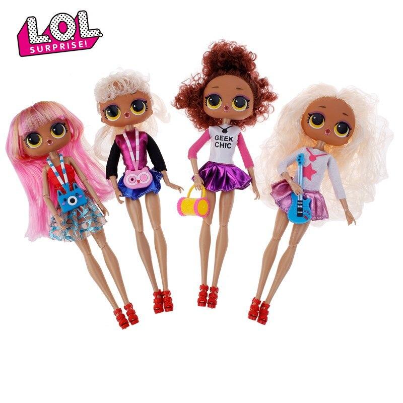 LOL surprise dolls Original OGM surprise lol dolls juguetes de acción de alta calidad Modelo caja original para regalos de niñas