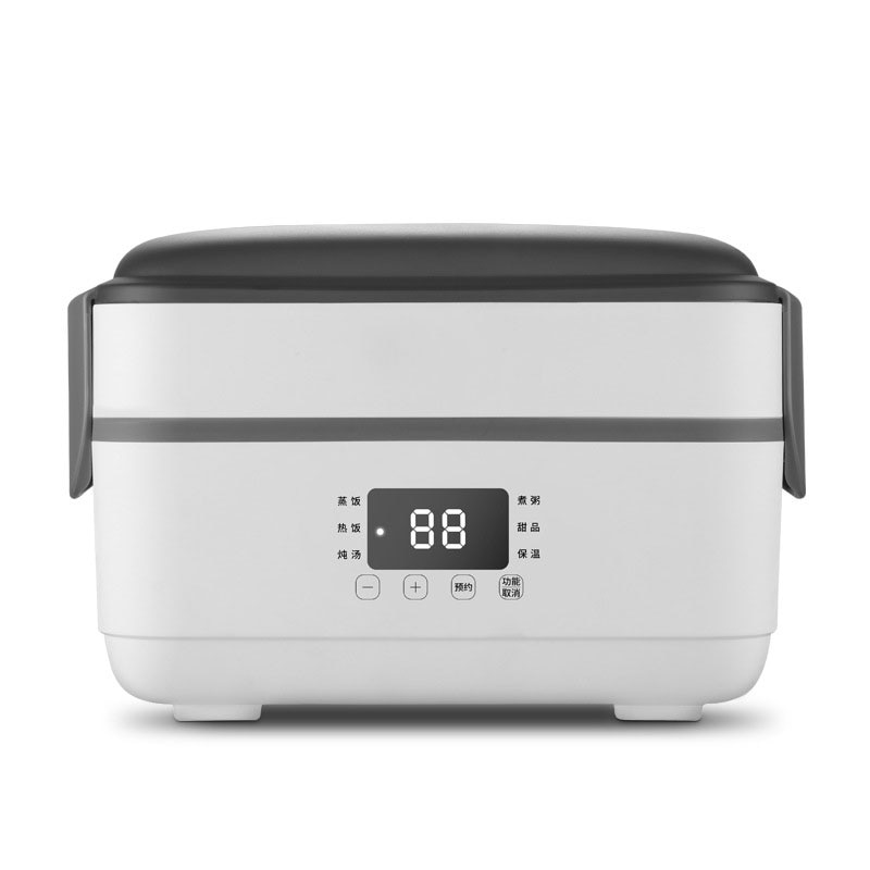 Self Heating Lunch Box Electric Lunch Box Portable Mini Rice Cooker Electric Cooking Machine Office Home Heating Lunch Box 220v
