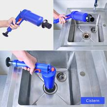 Limpiador de drenaje de émbolo de tubería, desbloqueador de presión de bomba de aire, fregadero de alcantarillado, lavabo, eliminador de obstrucciones de tubería, baño, cocina, inodoro