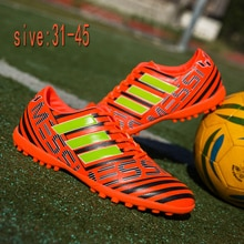 New men's and women's sports football shoes, youth outdoor spikes and broken nails football shoes, i