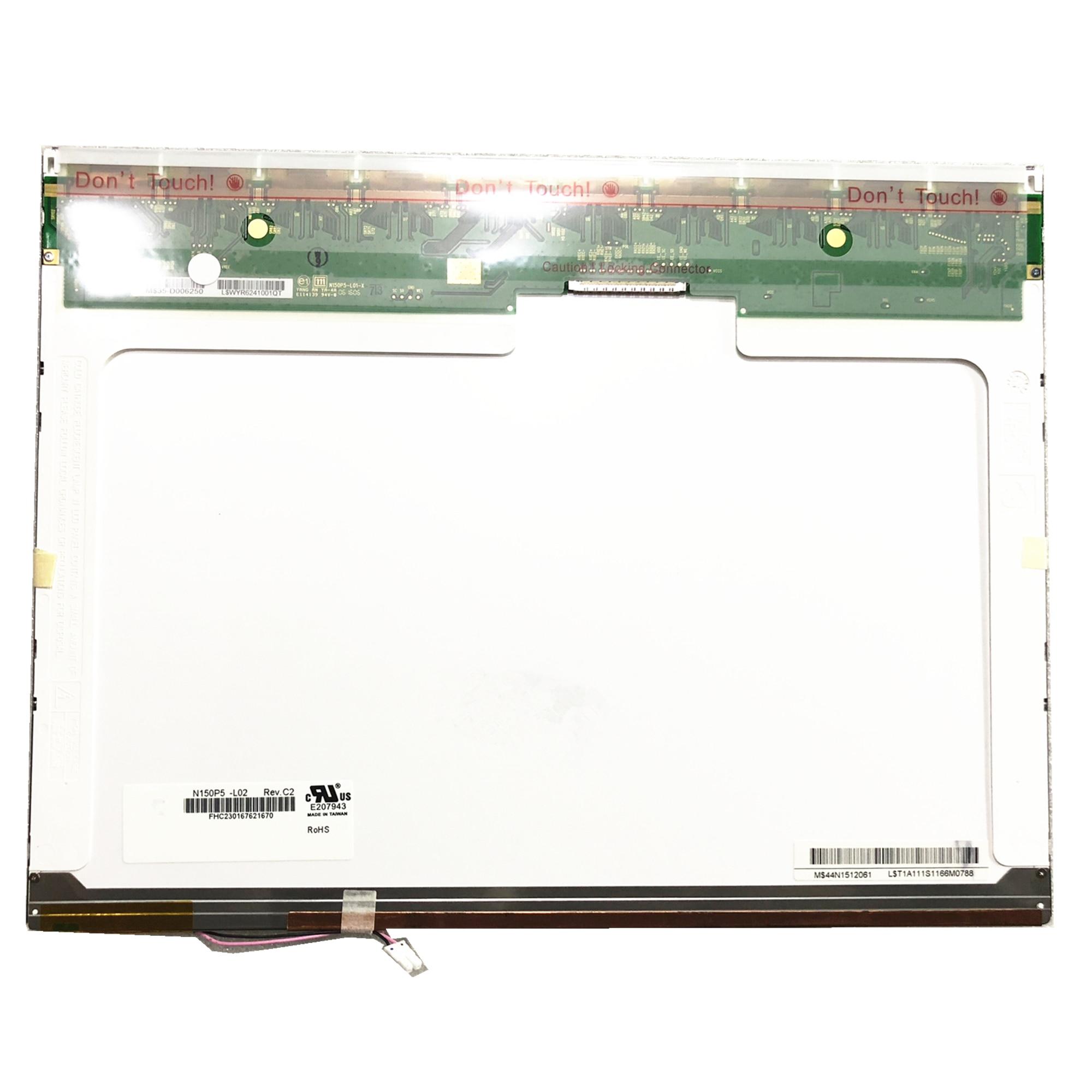 شحن مجاني N150P5-L02 LTN150P5-L01 N150P5-L03 L04 CLAA150PB01 B150PG01 B150PG03 LP150E05 Lcd شاشة 1400*1050 LVDS 30 دبابيس
