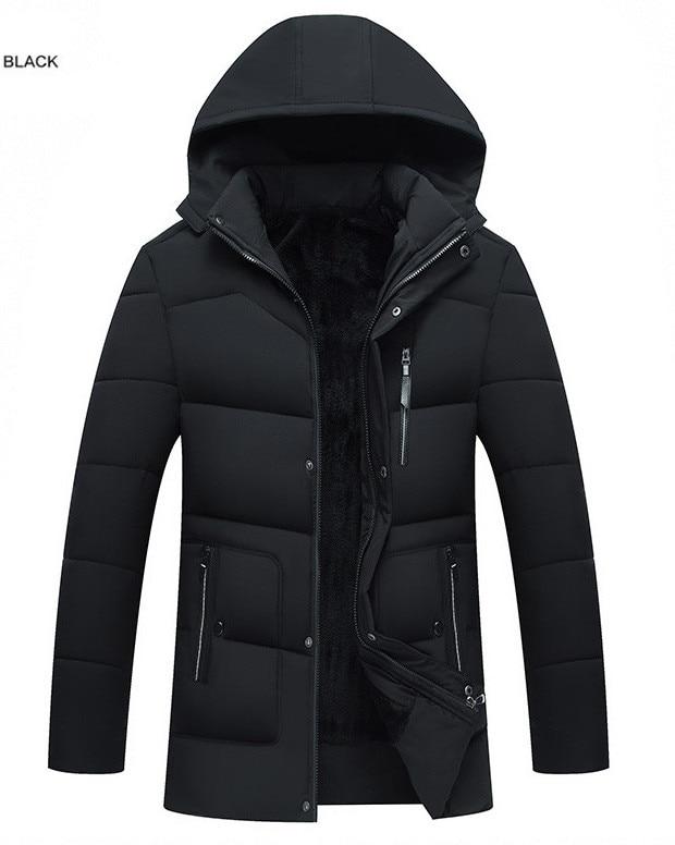 2020 ropa acolchada de algodón para hombre abrigo cálido para hombre chaqueta...