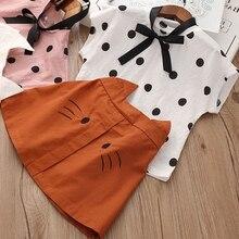 Ensemble vêtements dété pour filles   Haut à motif léopard à manches courtes + jupe léopard gâteau, nouveaux ensembles dété pour bébés filles