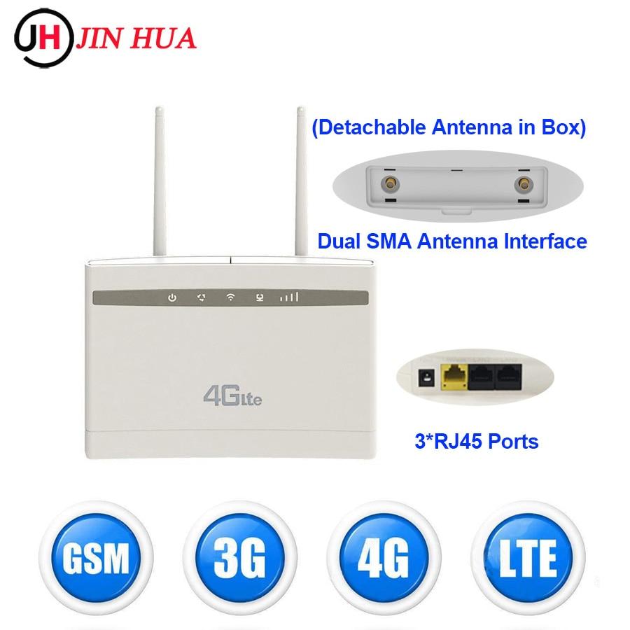 300Mbps 2.4g Cpe903 LTE 4G واي فاي راوتر بطاقة Sim موبايل واي فاي هوت سبوت راوتر 4g مودم PK هواوي B525S-65a TP لينك Tenda أجهزة التوجيه