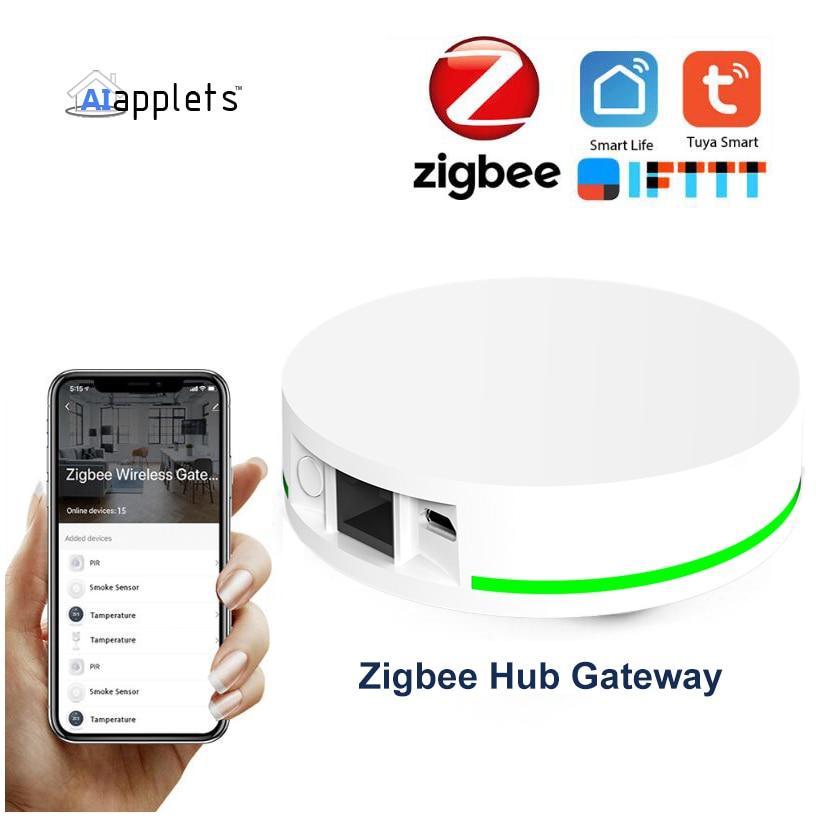 Tuya-ZigBee 3.0 Smart Hub system ، Zigbee ، IOT Gateway Controller ، Bridge Controller ، يعمل مع Alexa ، Google Home ، اتصال الشبكة السلكية