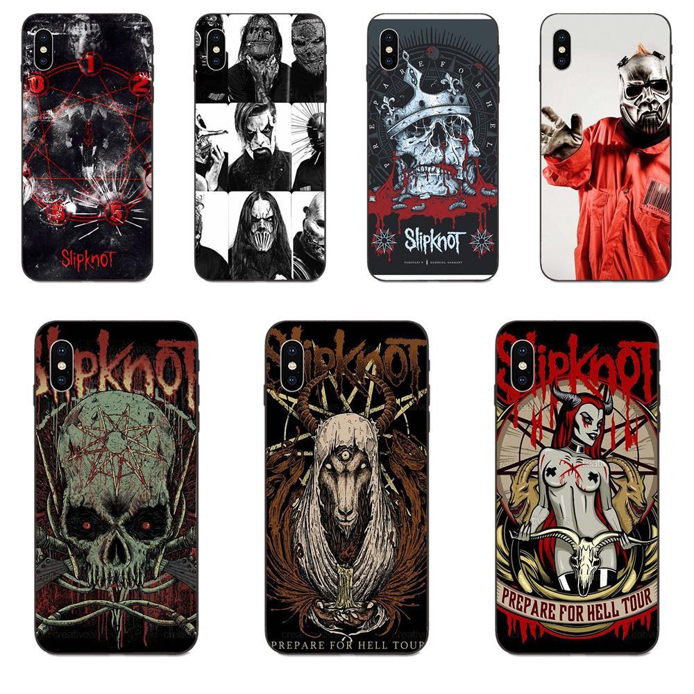 Slipknot banda suave del teléfono celular casos para Huawei nova 2 2S 3i 4 4e 5i Y3 Y5 II Y6 Y7 Y9 Lite Plus primer Pro 2017 de 2018 de 2019