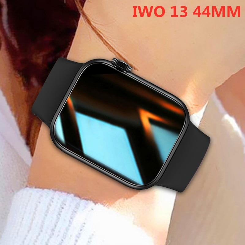 Inteligente para Mulheres dos Homens Monitor de Freqüência Smartver à Prova Água para Android Chamada Bluetooth Relógio Cardíaca Fitness Rastreador Dwaterproof Iphone 2021 Iwo 13