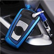 TPU Auto Key Schutz Shell Auto Schlüssel Abdeckung Fall für BMW F20 F21 F10 F11 F30 F32 F25 F26 F06 f01 Zubehör Auto Styling