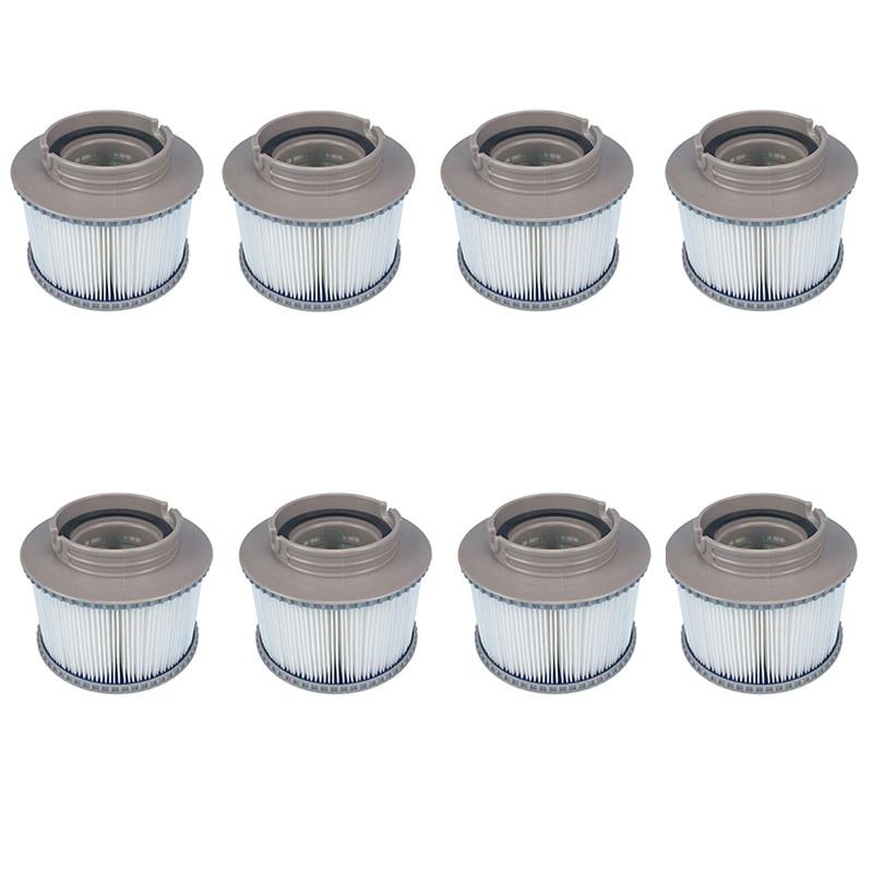 8 pièces/lot pour MSPA remplacement filtre Pack x 8 baignoire gonflable garder propre pour Mspa filtre filtre à eau cartouche