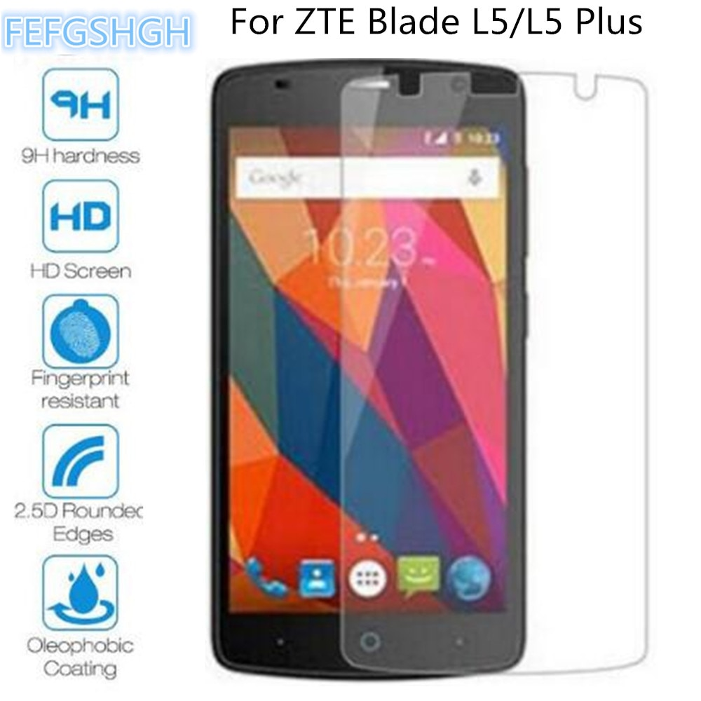 Tempered Glass For ZTE Blade L5 Plus Explosion Proof Screen Protector For ZTE Blade L5 Protective Film Glass