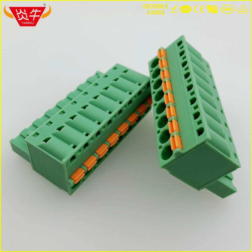 KF2EDGKD 5.08 2P ~ 12P PCB CONNECTOR PLUG-IN TERMINAL BlOCKS 2EDGKD 5.08mm 2PIN ~ 12P FKC 2,5 ST 1873058 PHOENIX CONTACT DEGSON