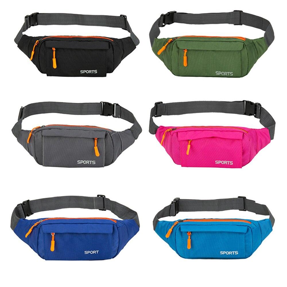 Taille Pack Frauen Laufschuhe Wasserdicht Taille Tasche Handy Halter Männer Gym Fitness Travel Pouch Gürtel Rosa Brust Taschen Neue