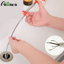 Multifunctional Cleaning Claw Hair Catcher Kitchen Sink Cleaning Tools Hair Clog Remover Grabber for