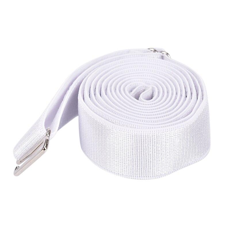 Adjustable Men Women Shirt Stay Anti-wrinkle Elastic Webbing Fixing Belt Strap