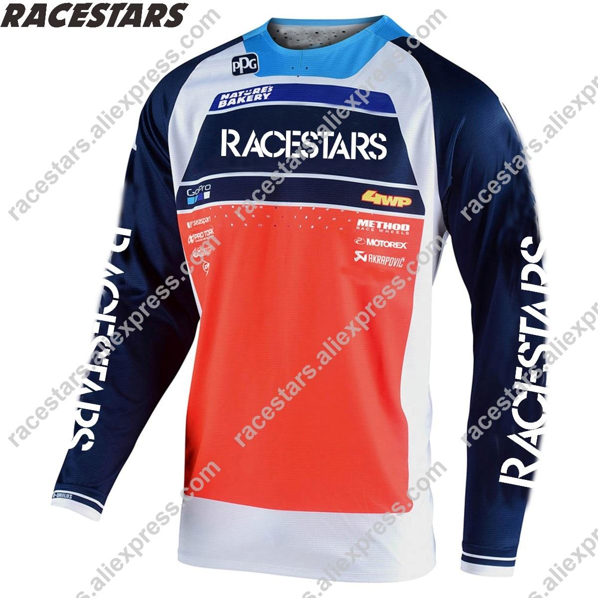 Camisetas de carrera para Motocross para Hombre, Maillot de Ciclismo de montaña,...