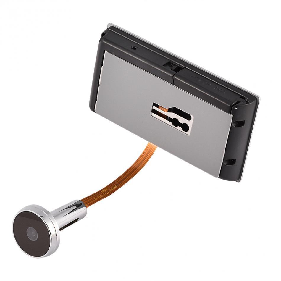 3.5 inch Doorbell Digital LCD 120 Degree Peephole Viewer photo visual monitoring electronic cat eye camera Doorbell enlarge