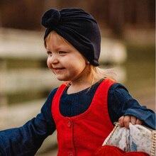 Gorro envolvente para bebés, niñas, bufanda de leopardo sólido, turbante elástico, gorro envolvente, 1 pieza, sombreros para bebés para niños pequeños, accesorios para el cabello