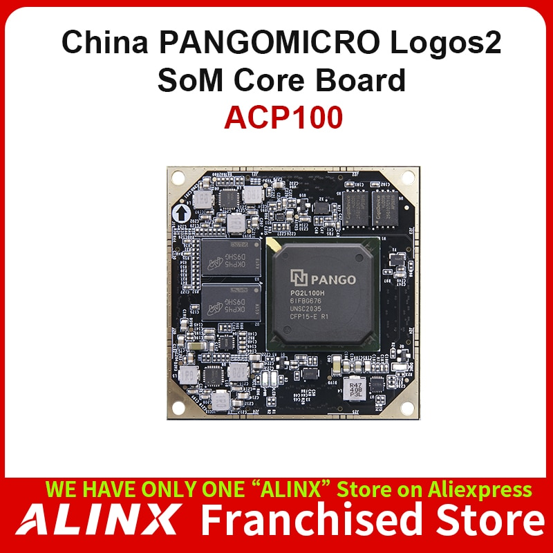 ALINX SoM ACP100: PANGOMICRO Logos2 PG2L100H FPGA Industiral Grade System on Module